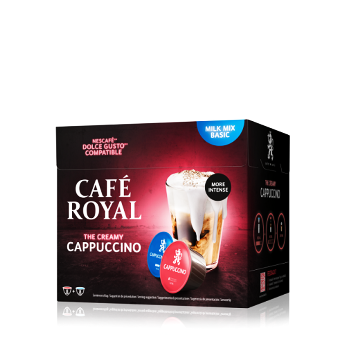 Капсули Café Royal Cappuccino - Dolce Gusto συμβατές κάψουλες