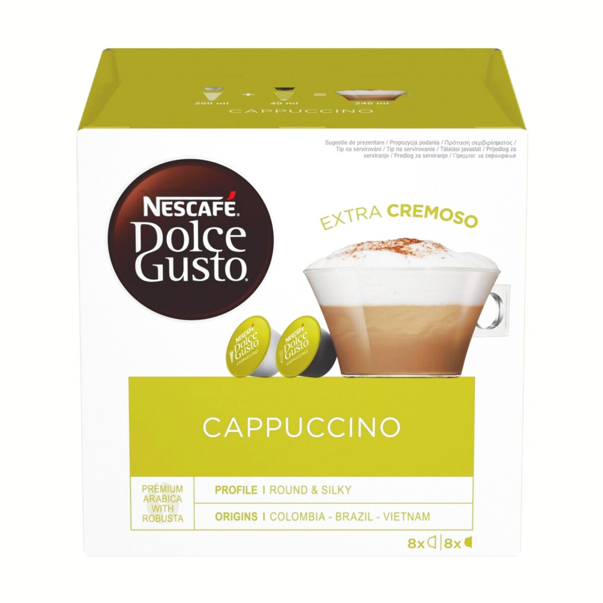 Nescafe Dolce Gusto Cappuccino κάψουλες