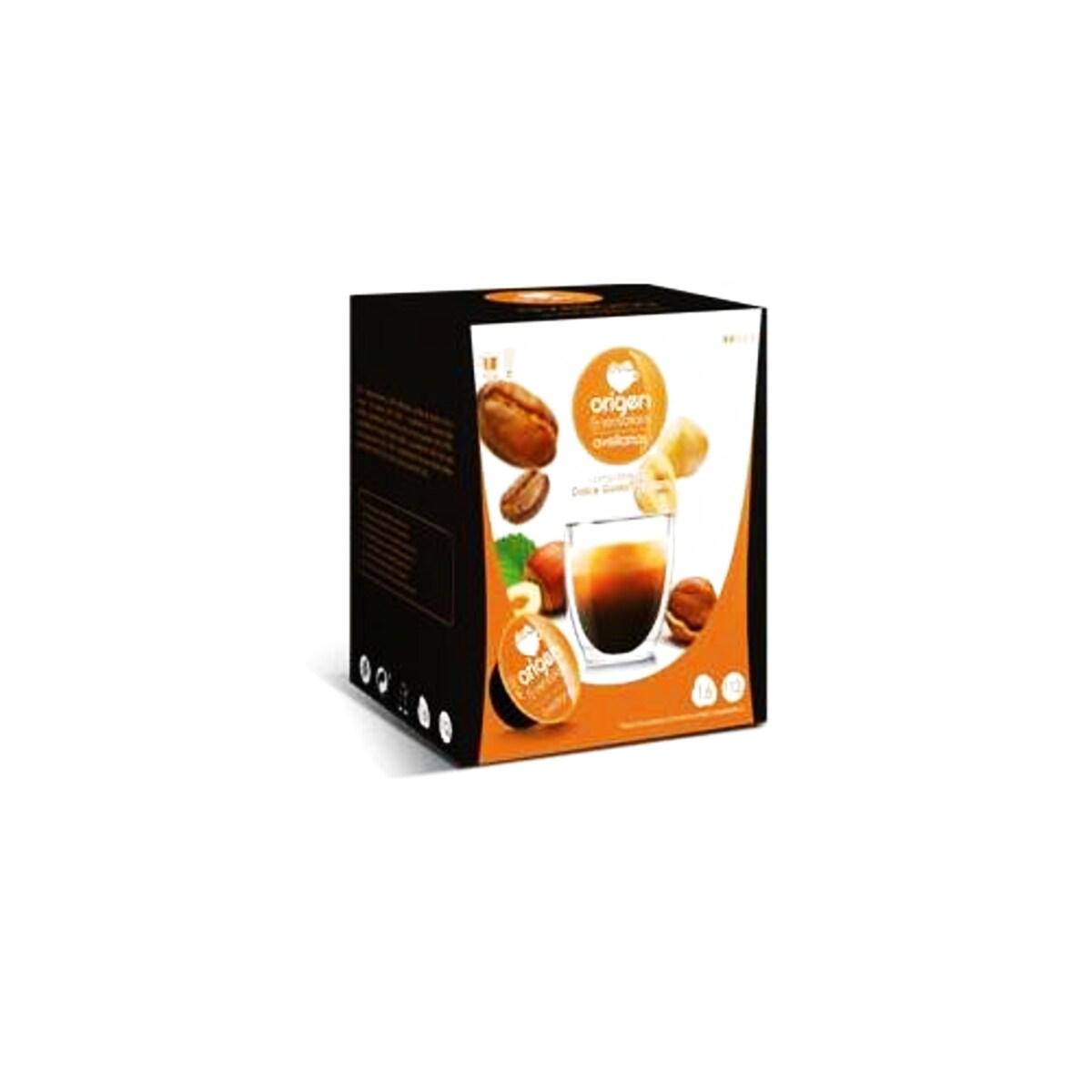 Origen Avellanas κάψουλες με γεύση φουντούκι για Dolce Gusto μηχανή καφέ